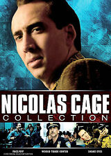 New-The Nicolas Cage Collection (Dvd) Face Off / World Trade Center / Snake Eyes