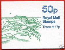 FB33a Pond life 2 50p Folded Booklet