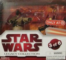 Star Wars Legacy Collection Mace Windu & Battle Droid Commander Target Exclusive