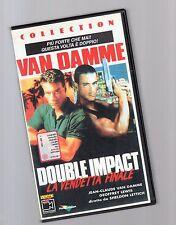 van damme - double impact  - videocassetta vhs -