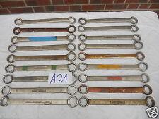 1x Dowidat Doppelringschlüssel 24/27 Schraubenschlüssel ex BW Bundeswehr A21