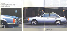 Opel Senator 3.0E 1978-80 Original UK Sales Brochure