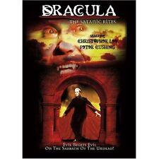 THE SATANIC RITES OF DRACULA. Hammer horror. Region free. New sealed DVD.