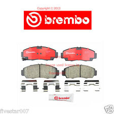 brembo Front Pads Disc Brake Pad Set With Manual Transmission Honda Accord Coupe