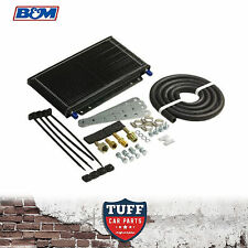 "B&M 70264 SuperCoooler Auto Transmission Cooler + Hose + Fittings 11x6x1.5"" New"