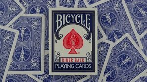 USPCC Bicycle Deck Blue Back