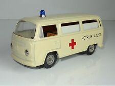 (V) CKO Kellerman West Germany TINPLATE VW VOLKSWAGEN AMBULANCE - 402