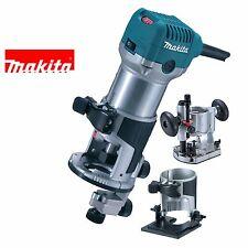 Makita RT0700CX2 240v Hand Router Trimmer Tilt + Plunge Base