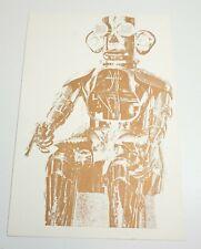 "EDUARDO PAOLOZZI ""NO HEROES DEVELOPED"" SCREENPRINT FROM GENERAL DYNAMIC FUN 1970"