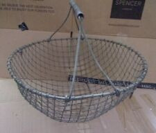 Vintage Metal Potato Basket