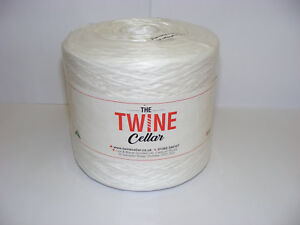 strong white 1kg Twine spool for garden / DIY use. UK manufactured