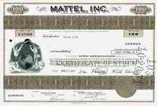 MATTEL Inc. El Segundo 1971 Los Angeles California Barbie Harry Potter 100 share