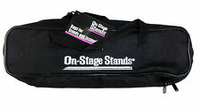 On Stage DSB6500 Black Nylon 2 Pocket Drumstick Bag Can Transform 2 Hang On Drum
