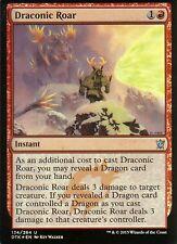 Draconic Roar FOIL | NM | Dragons of Tarkir | Magic MTG