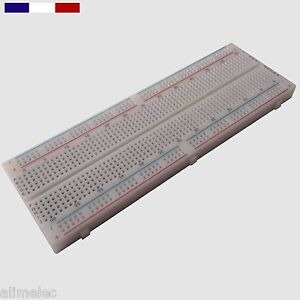 Plaque platine d'essais breadboard 830 Points MB102  PCB prototype