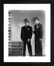 Humphrey Bogart And James Cagney Framed Photo CP0201