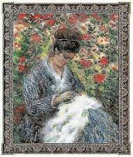 """Cross Stitch Kit RIOLIS 100/051 Madam Monet 24x30 Cm 10""""x12"""" 14 Count 31 Colors"""