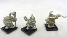 Warhammer Dwarfs army lot 3 Warmachine crew only cannon Oop metal