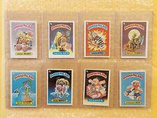 LOT of 8: 1985 Garbage Pail Kids Original 1st Series 1 GPK OS1 (UK MINI CARDS)