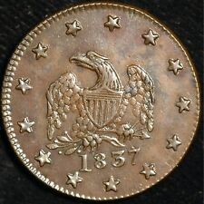 More details for usa cent 1837 hard times token s maycock & co (t84)