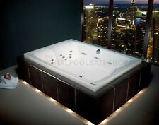 ​Carron Celsius Duo 26 Jet Whirlpool Bath 2000 x 1400mm | White | Jacuzzi Spa