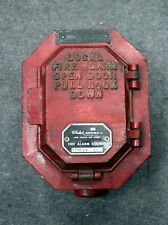 Wheelock Signals Long Branch NJ Fire Alarm Station SP-210 (278886) Red NR!
