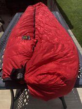 Vintage Mountain Hardware Tioga Stormlight Goose Down Sleeping Bag 0 Deg 73 X 30