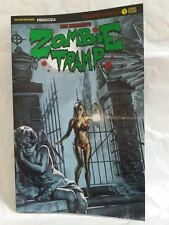 ZOMBIE TRAMP ORIGINS #1 AOD COLLECTABLES EXCLUSIVE SPECIAL GREEN FOIL COVER 2017