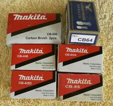 Genuine Makita Carbon Brushes CB  440 430 204 85 64 Hitachi 999-043 999-038