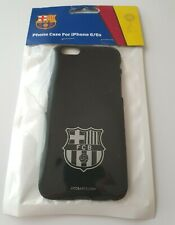 FC Barcelona Official iPhone 6 & 6S Case Cover BLACK