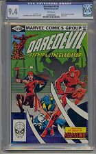 DAREDEVIL #174 CGC 9.4 WHITE PAGES
