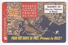 Monaco - Chip Phonecard - MF27a - Prenez le Bus - Used/Usagée