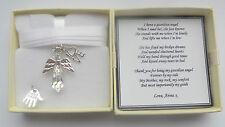 Mother's Mum Mummy Mam Gift Guardian Angel Personalised keepsake Day thank you