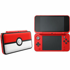 Nintendo 2DS XL Konsole mit 4GB Micro SD Card - Rot/Weiß (Poke Ball Edition)