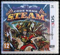 Jeu CODE NAME : S.T.E.A.M. pour Nintendo 3DS FR PAL Neuf/New