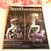 Smithsonian Magazine September 1998 Ice Station Zebra Delacroix da Vinci Horse