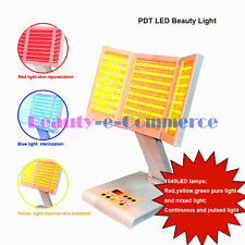 Desktop PDT Photon Light Therapy Pulsed Light Red Blue Yellow Light 1040 Bulb