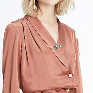 3X Fashion Durable Imitation Pearl Brooch Pin Shawl Clothes Fastener Jewellery