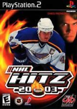 NHL Hitz 2003 w/ Manual PS2 PLAYSTATION national hockey league teams sports game