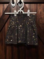 Jumping Beans Girls Skirt size 7,  gold,  cotton