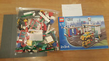 LEGO City 7993 Service Station Complete Octan Garage Car Wash Shop