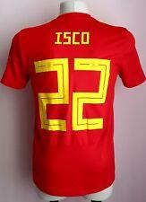 Spain 2017 - 2019 Home football shirt Isco Adidas