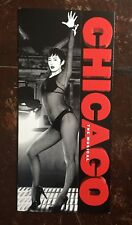 CHICAGO The Musical Promotional Flyer (Gatefold) West End London Phoenix Theatre