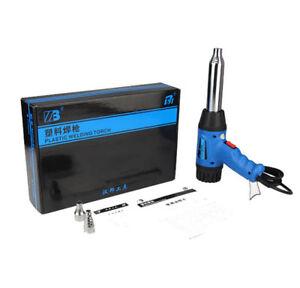 Plastic Welding Torch Hot Air Gun Car Bumper Welding Gun PP PVC Welding Tools