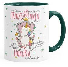 Einhorn Kaffee-Tasse Wir können nicht alle Prinzessinen sein Unicorn Tasse mit