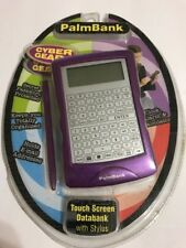 CYBER GEAR PALM BANK TOUCH SCREEN DATABANK ORGANIZER W/ STYLUS - NEW IN PACKAGE
