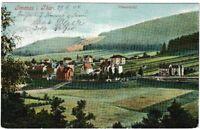 Ansichtskarte Ilmenau in Thüringen - Blick auf das Villenviertel - 1904 !!