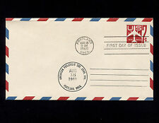 1960 US Air Mail 7c PSE FDC APS Convention Sc#UC33 Unaddressed
