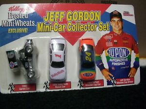 1/64 Racing Champions Jeff Gordon Promo 3 pack