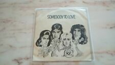"""Queen Band - Somebody To Love Emi Holland 7"""" 45 Rpm record Freddie Mercury"""